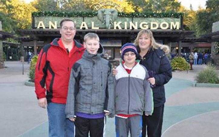 Bad Family Vacation Photo